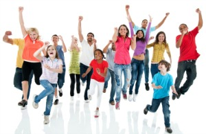 Front view of a large group jumping. They are isolated on the white background and looking at the camera. [url=http://www.istockphoto.com/search/lightbox/9786682][img]http://img638.imageshack.us/img638/2697/children5.jpg[/img][/url] [url=http://www.istockphoto.com/search/lightbox/9786738][img]http://img830.imageshack.us/img830/1561/groupsk.jpg[/img][/url]